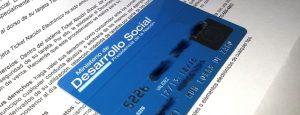 Tarjeta Social Azul Cargada Octubre 2016