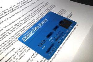 Tarjeta Social Azul