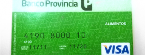 Tarjeta visa vale social del Plan mas vida Cargada OCTUBRE 2016