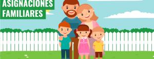 Fechas de cobro de las Asignaciones Familiares SUAF Enero 2019