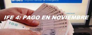 IFE 4: PAGO EN NOVIEMBRE