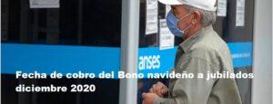 Fecha de cobro del Bono navideño a jubilados diciembre 2020